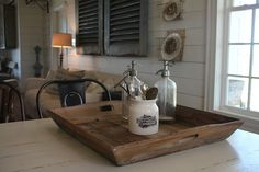 Reclaimed Wood Trays | The Magnolia Market