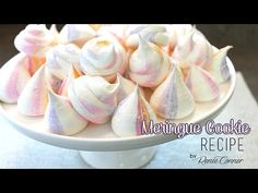 Meringue Cookie Recipe | Renee Conner - YouTube