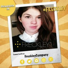 #Freckley people make the world #smile! - #freckles #freckle #freckled #freckly #frecks #frecklyface #freckleface #freckledface #frecklefaced #selfie #selfies #Philadelphia #Pennsylvania #Philly #PhiladelphiaPennsylvania
