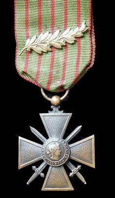 Croix de Guerre 1914 - 1918 France.