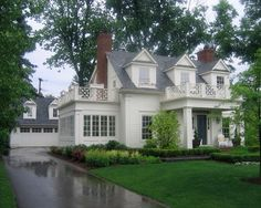 50 Ideas For House Goals Exterior Curb Appeal Style At Home, Future House, My House, Traditional Exterior, White Houses, House Goals, Cottage Homes, Better Homes, Design Case
