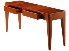 Rectangular cherry wood console table with drawers FLAMINIA by Morelato design Centro Ricerche MAAM