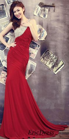 #Sexy #Trumpet#Mermaid# Court Train Ruched #Plus Size# Evening Dress#Formal Dress#