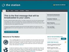 The Station is a super business theme with loads of different options for navigation spaces, widgetized sidebars and custom widgets. Everything has been designed for your user in mind and all of your most important content will stand out within this Station.