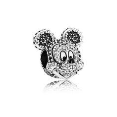 Pandora Charms Disney, Pandora Bracelet Charms, Pandora Jewelry, Mickey Mouse Pandora Charm, Charm Bracelets, Mickey Mouse Jewelry, Disney Jewelry Collection, Pandora Collection, Silver Jewelry Cleaner