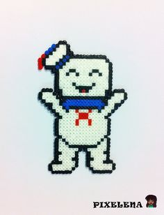 Ghostbusters: Stay Puft Marshmallow Man by PixelenaMV