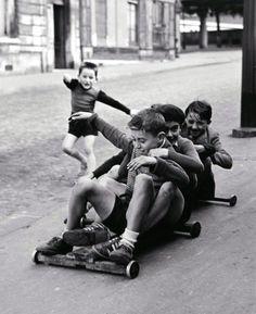 Le bon temps.  paris 1952 (Sabine Weiss)
