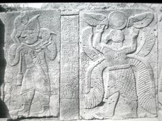 Neo-Hittite, Karatepe, North Portal, West Series, Basalt Reliefs