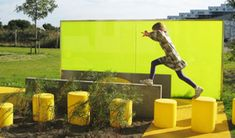 HopOp by out-sider Tree Stump, Urban Design, Kids Furniture, Playground, Public, Open Spaces, Landscape, Park, Multifunctional