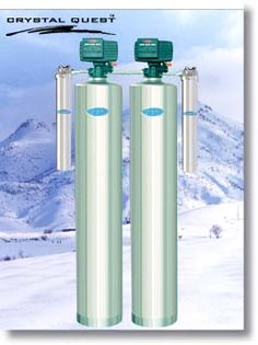 Whole House Water Filter & Fluoride Filtration System - Stainless Steel