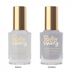 Ruby Wing In Your Dreams Color Changing Nail Polish