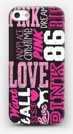 Love 86 1986 LOGO Victoria's Secret Style Case for iPhone 4 4S 5 5S 5C 6 6S 6/6S Plus