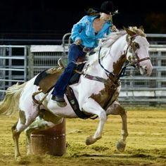 Barrel racing how much fun