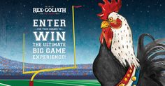 Check out this The Rex Goliath Football Experience Sweepstakes