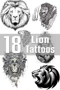 Lion Tattoo Designs - The Body is a Canvas