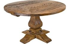 English Pine Farmhouse Table...Rustic and EXACTLY what my new dining room needs!