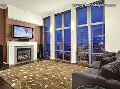 Cosmopolitan penthouse in Seattle, WA