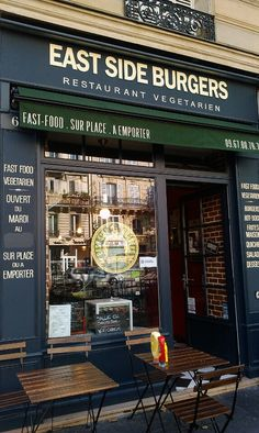 Best vegetarian burgers in Paris!! :D