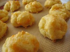 6. Cheese Puffs - my sister used to make the best.