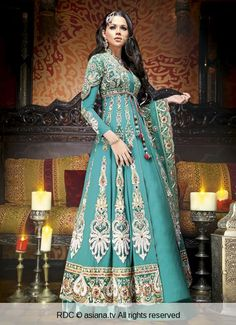 India Emporium Is a One Stop Ethnic Wear Online Store For All Designer Wear, Made to Order Bridal Lehengas , Custom Made Designer Dresses , Party Wear Salwar Kameez , Artificial jewellery . Pakistani Bridal, Indian Bridal, Blue Bridal, Pakistani Outfits, Indian Outfits, Anarkali Dress, Lehenga, Saree, Moda India