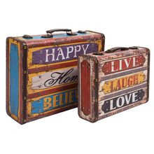 I keep all my favorites in one place, aye! Happy Home Believe Suitcase - Set Of 2 is a must buy for all those momma's who love safe-keeping! :) :) :) #ChumbakSecretSanta
