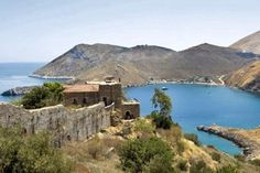 Castle of Porto Kayio Laconia Peloponnese Byzantine, Medieval, Greece, Castles, Water, Outdoor, Porto, Greece Country, Gripe Water