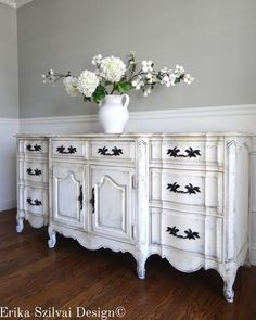 Shabby chic Dining & Living Room Furniture for Sale Hand Painted Furniture, Refurbished Furniture, Paint Furniture, Repurposed Furniture, Furniture Makeover, Cheap Furniture, Antique White Furniture, Furniture Stores, Wooden Furniture