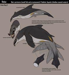 Creature Specimen: Doluc by Avian-king