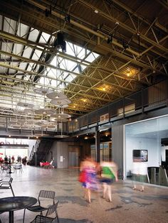 Interior storefront (atmosphere) Pearl Brewery and Full Goods Warehouse - Awards, Adaptive Reuse, Mixed-Use Development - EcoBuilding Pulse