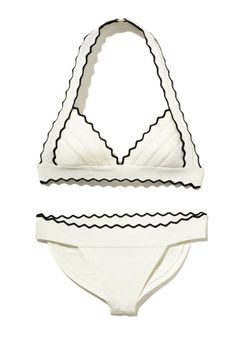 The Modernist Gift Guide - Hervé Léger by Max Azria swimsuit, $840, saks.com.