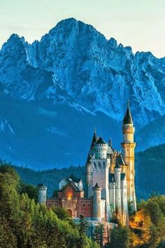 """earth-perfection-scoubidou-ouah:  """"anny-and-beauty - Neuschwanstein Castle, Germany  """""""