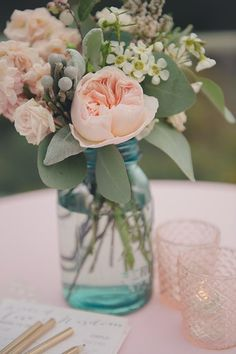wedding centerpiece idea; Rebecca Amber Photography