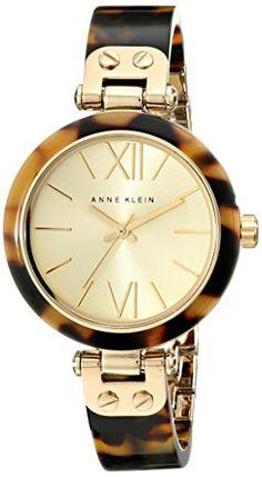 Anne Klein Women's 109652CHTO Gold-Tone Tortoise Shell Plastic Bracelet Watch Anne Klein http://www.amazon.com/dp/B004OELCYG/ref=cm_sw_r_pi_dp_EqVbvb0NQXGCJ