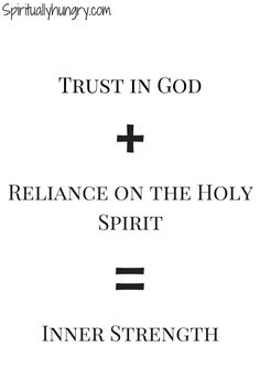 Strength in God | Strength in Christ | Strength of God
