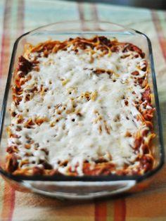 Baked Spegetti dinner-ideas