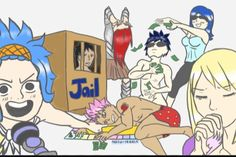 Why is Gray naked again? And WHY THE F*CK is Natsu lying right before him ????????