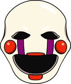fnaf 2 The Puppet head