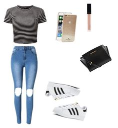 """""""Sin título #36"""" by milenataglia ❤ liked on Polyvore featuring Kate Spade, MICHAEL Michael Kors, Witchery and adidas"""