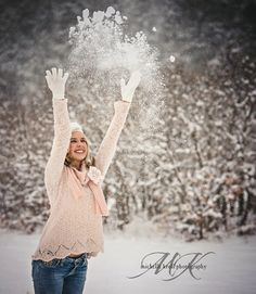 Michelle Kroll Photography-Parker Colorado Photographer: Winter Stories.....A Creative Snow Session!