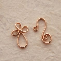 A beautiful and unique way to complete your #handmade jewelry:  Rose Gold Plated Clasps by UnkamenSupplies