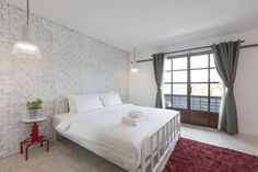King Room with Balcony Balcony, King, Bed, Room, House, Furniture, Home Decor, Bedroom, Decoration Home