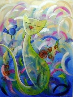 Visite meu site www.katiaalmeidaart.com.br pintura em tela, quadros pintados a mão
