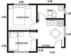 Modelos de planos para casas pequeñas