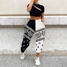 Swag Outfits For Girls, Teenage Outfits, Teen Fashion Outfits, Fashion Pants, Look Fashion, Girl Outfits, Street Fashion, Trendy Teen Fashion, Baddie Outfits Casual