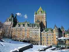 Hotel Frontenac in Quebec City