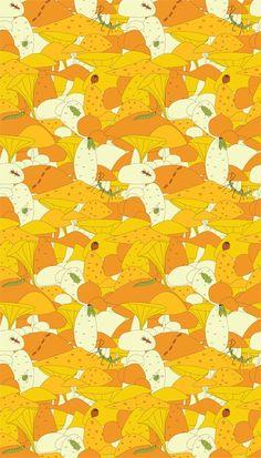 Maja Lindberg - Insects and mushrooms   Majali Design & Illustration