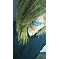 Eksponujemy usta cz.2. #ombrelips #bluelips #blonde #lips