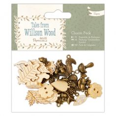 Papermania Charm Pack (32pcs) - Tales from Willson Wood