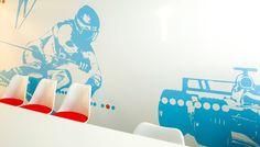 MTV3 interior by Studio Lillehammer