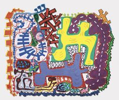 """Elizabeth Murray.   She died in 2007. I absolutely love her work. So sad she is not still doing it.  Do the Dance. 2005. Oil on canvas, 9'5"""" x 11'3"""" x 1 1&8260;2"""" (287 x 342.9 x 3.8 cm). Courtesy PaceWildenstein. Photo: David Allison. © 2005 Elizabeth Murray"""